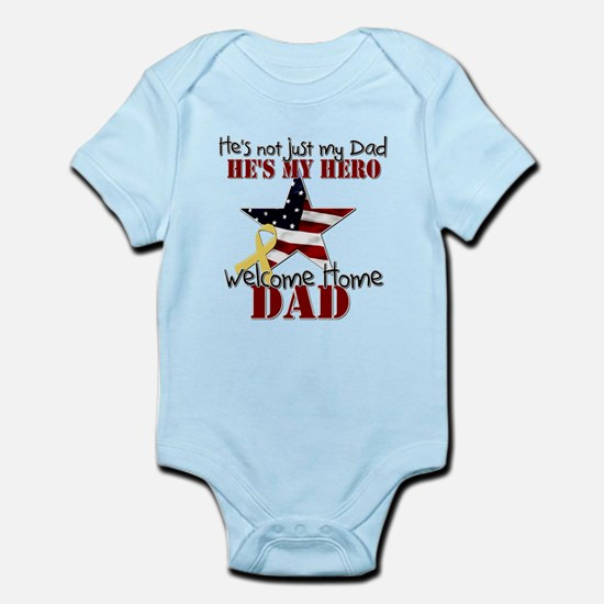 Hes not just myDad Body Suit