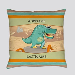 Dinosaur Personalized for Kids Everyday Pillow