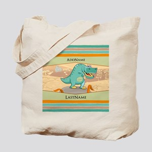Dinosaur Personalized for Kids Tote Bag