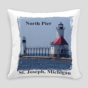 St. Joseph North Pier Everyday Pillow