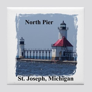 St. Joseph North Pier Tile Coaster