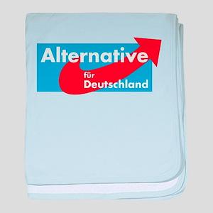 Alternative für Deutschland baby blanket