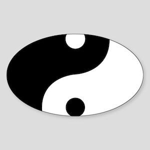 Yin And Yang Sides Sticker