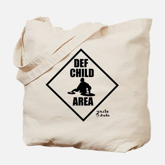 DEF CHILD AREA Tote Bag