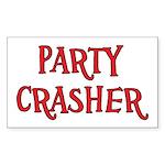Party Crasher Sticker