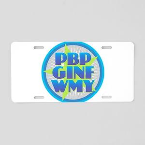 PBPGINFWIY Aluminum License Plate