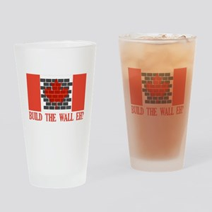 Canadian Wall Drinking Glass