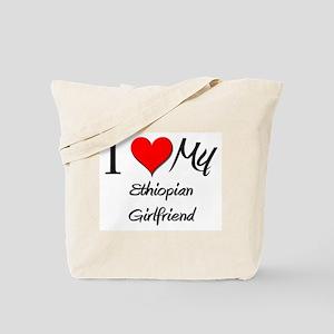 I Love My Ethiopian Girlfriend Tote Bag