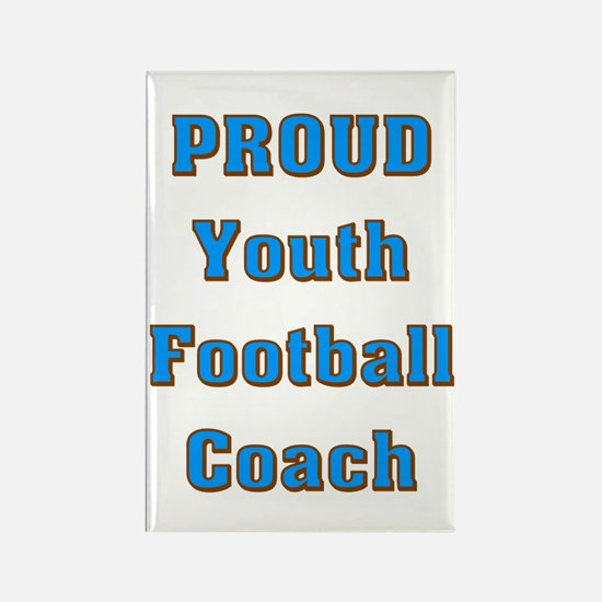Proud Youth Football Coach Rectangle Magnet
