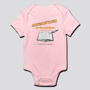 Accounting - By the Numbers Infant Bodysuit
