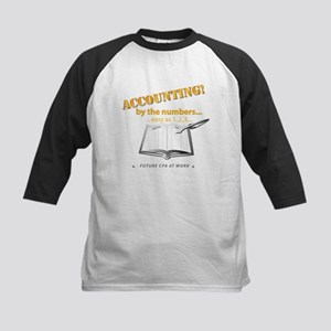 Accounting - By the Numbers Kids Baseball Jersey