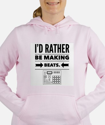 Cute Rapper Women's Hooded Sweatshirt