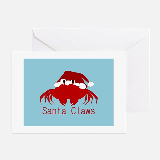 It's Santa Claws Greeting Cards
