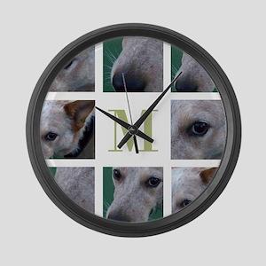Elegant and Modern PhotoBlock Large Wall Clock