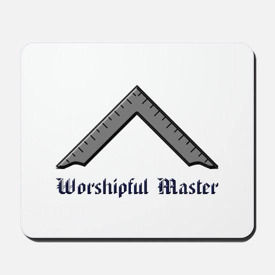 Worshipful Master Mousepad