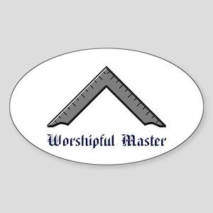 Worshipful Master Sticker