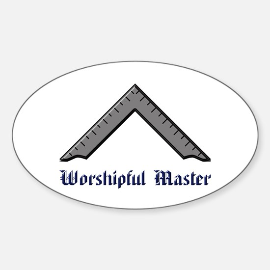 Worshipful Master Decal
