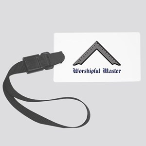Worshipful Master Luggage Tag