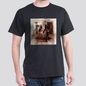 Happy Bride and Zombie Groom T-Shirt