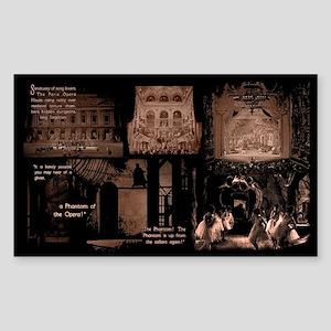 Classic Phantom of the Opera -Opera Ghost Sticker