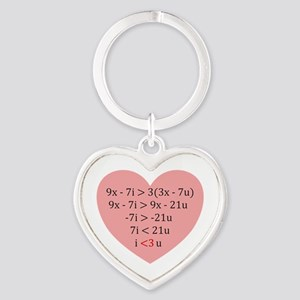 Equation of Love Keychains