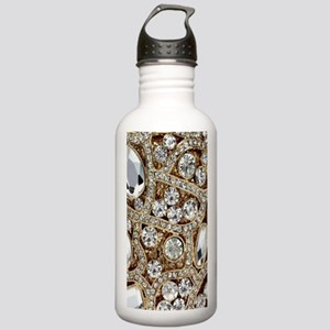 bohemian girly gold rh Stainless Water Bottle 1.0L