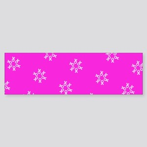 Pink Ribbon Breast Cancer 4Edie Bumper Sticker