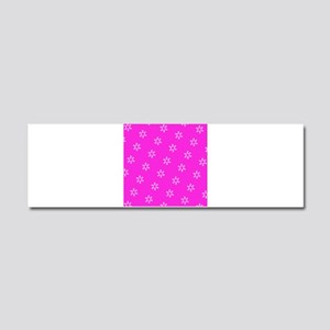 Pink Ribbon Breast Cancer 4Edie Car Magnet 10 x 3