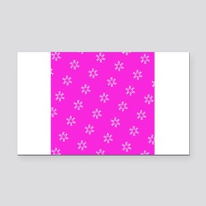 Pink Ribbon Breast Cancer 4Ed Rectangle Car Magnet