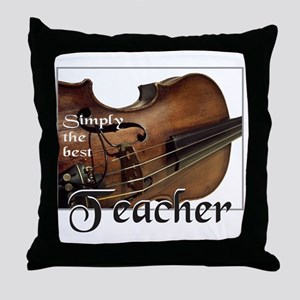 BEST TEACHER Throw Pillow