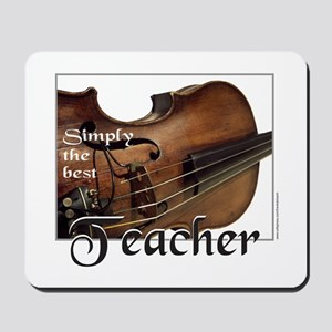 BEST TEACHER Mousepad