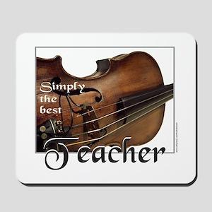 BEST TEACHER Mousepad