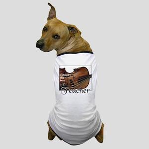 BEST TEACHER Dog T-Shirt
