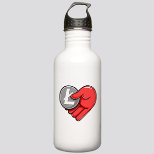 From Litecoin With Lov Stainless Water Bottle 1.0L