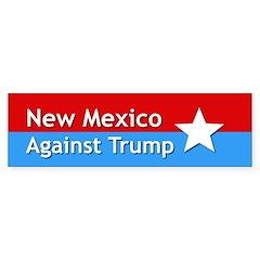 New Mexico Against Trump Bumper Bumper Sticker