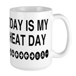 Video Game Cheat Day Large Mug