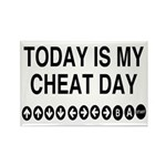 Video Game Cheat Day Rectangle Magnet