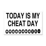 Video Game Cheat Day Rectangle Car Magnet