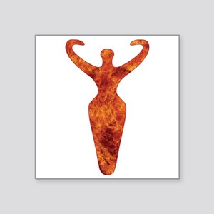 Fire Goddess Symbol Sticker