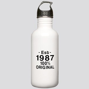 Est.Since 1987 Stainless Water Bottle 1.0L