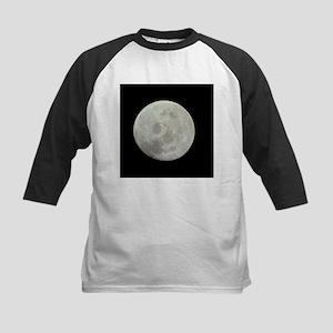 Moon from Apollo 11 Baseball Jersey