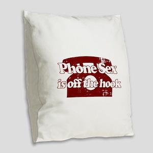 Dec 23 16 Burlap Throw Pillow