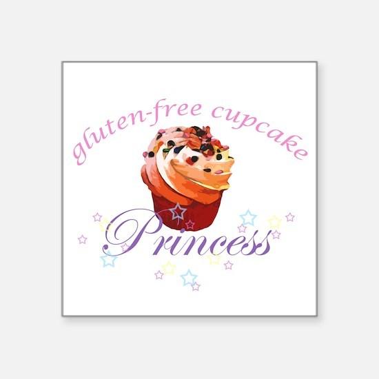 Gluten Free Cupcake Princess Sticker