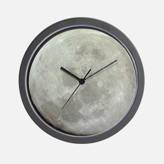 Funny Moon landing Wall Clock