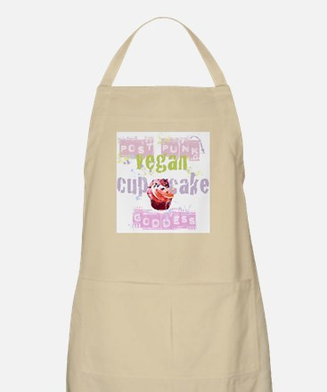 Post Punk Vegan Cupcake Goddess Apron