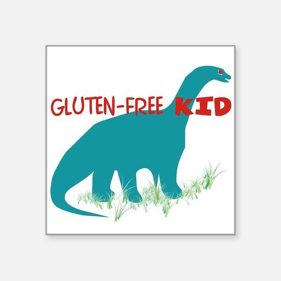 Gluten Free Kid - DINO Sticker