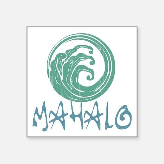 Mahalo Wave Sticker