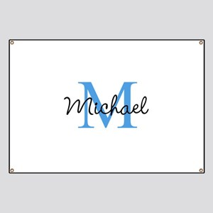 Personalize Iniital, and name Banner