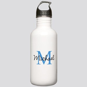 Personalize Iniital, and name Water Bottle