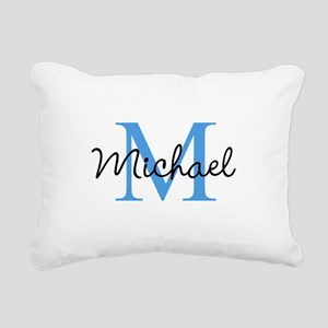 Personalize Iniital, and name Rectangular Canvas P